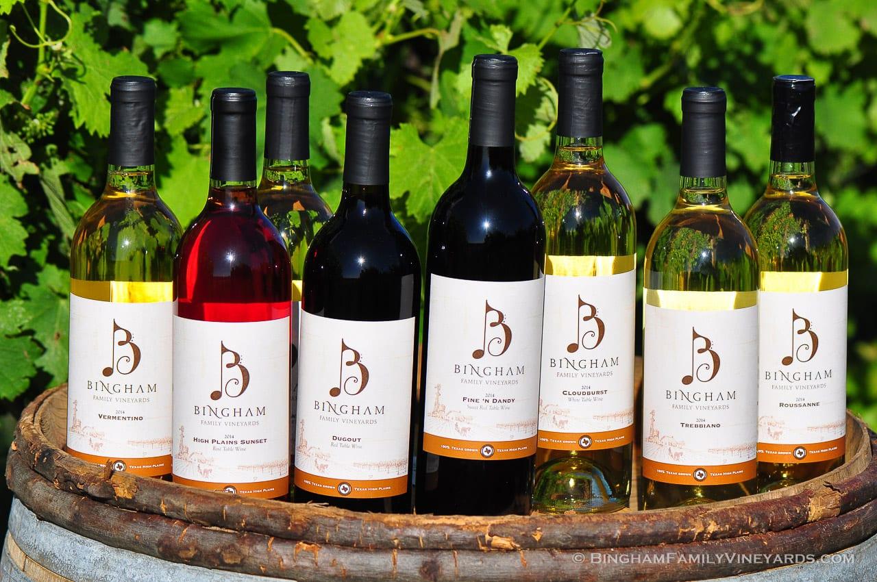 Bingham Family Vineyards Grapevine Tasting Room